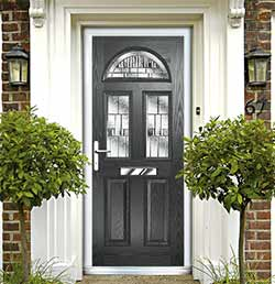 Composite or uPVC Double Glazed Door