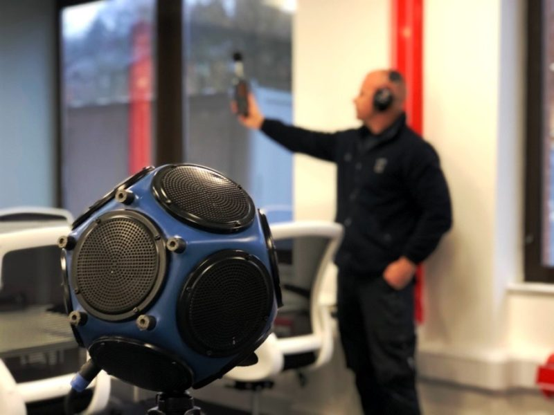 Pre-completion Sound Testing in London